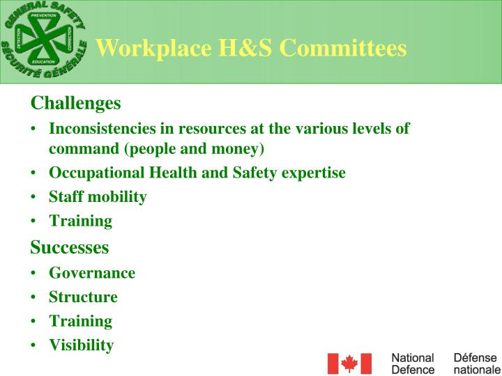 Workplace H&S Committees