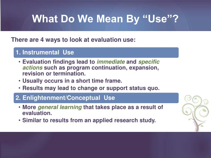"""What Do We Mean By """"Use""""?"""