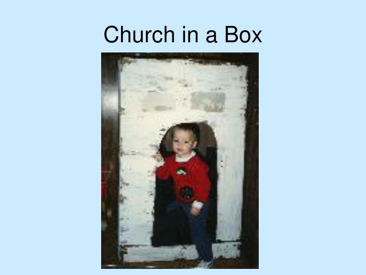 Church in a Box