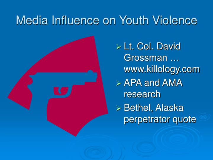 Media Influence on Youth Violence