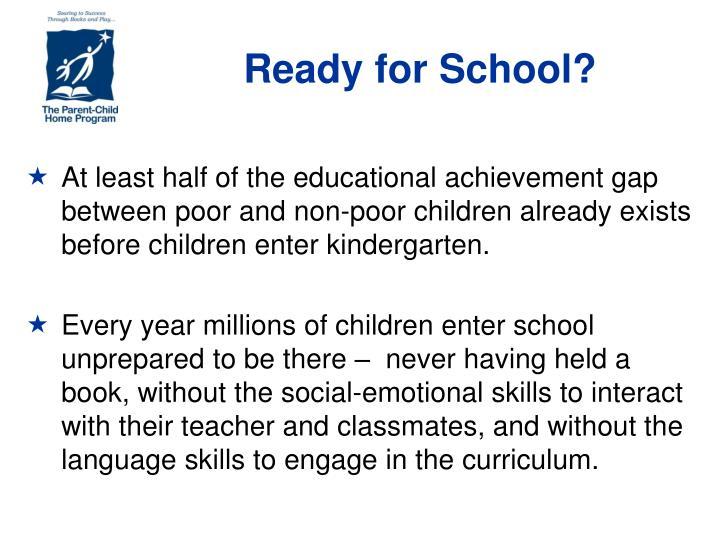 Ready for School?
