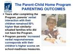 the parent child home program parenting outcomes1