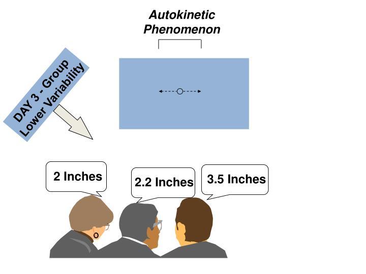 Autokinetic