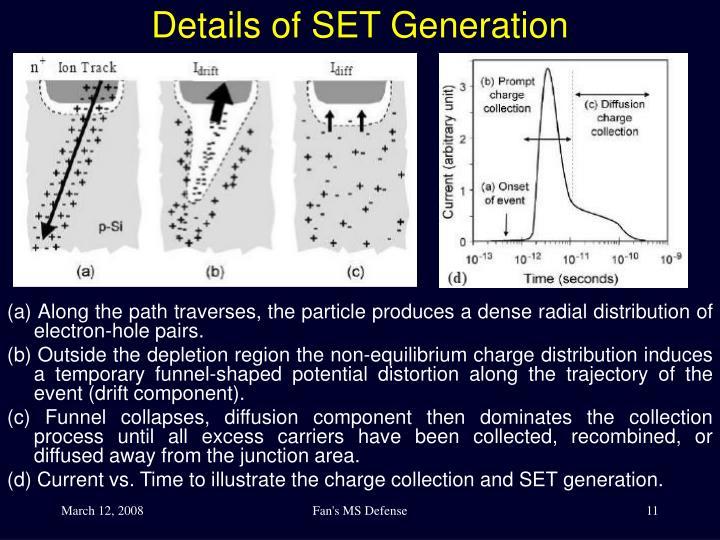 Details of SET Generation