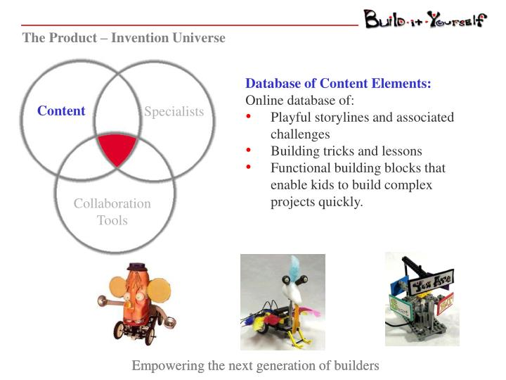 The Product – Invention Universe