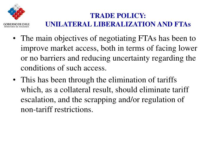 TRADE POLICY:
