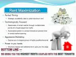 rent maximization