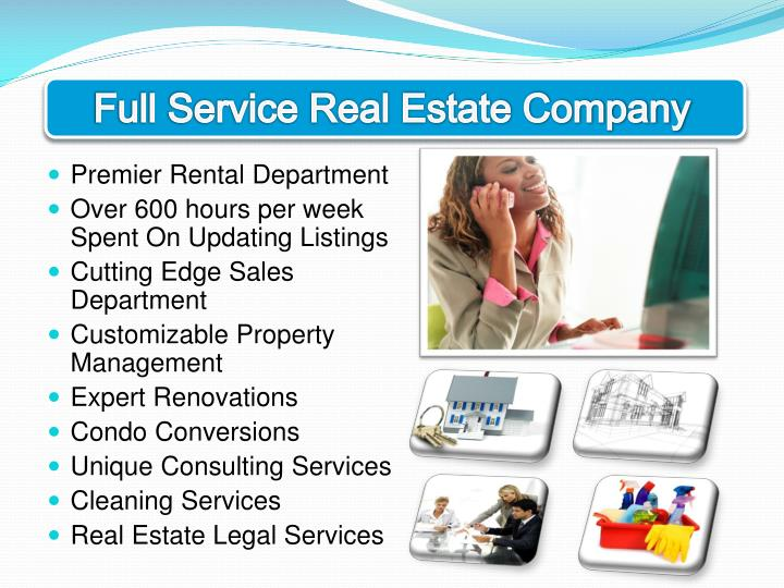 Full Service Real Estate Company