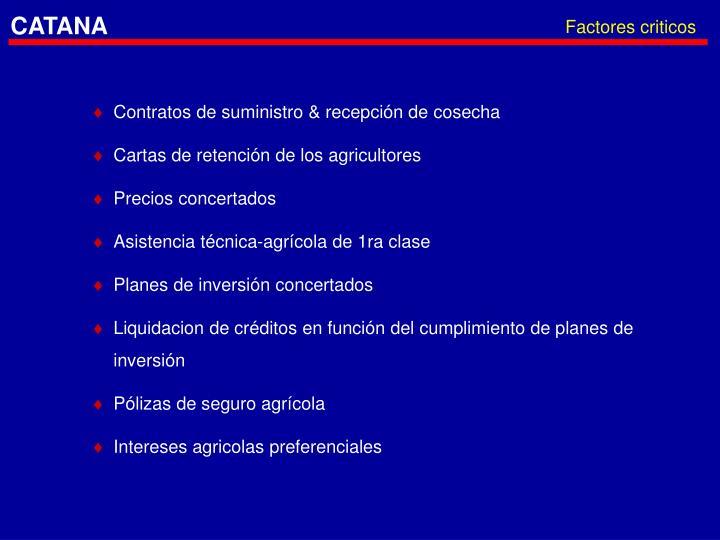 Factores criticos