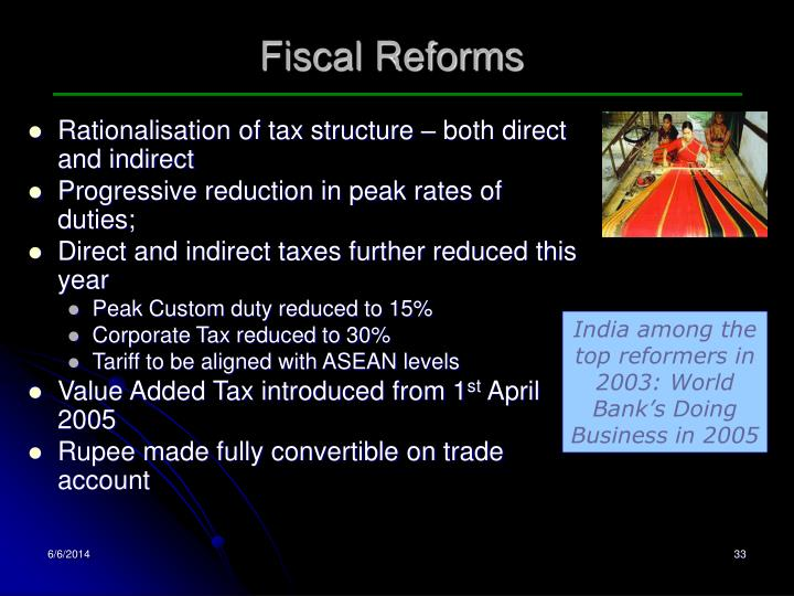 Fiscal Reforms
