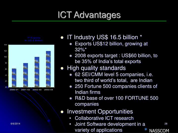 ICT Advantages