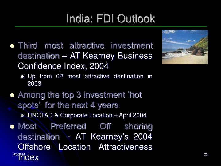 India: FDI Outlook