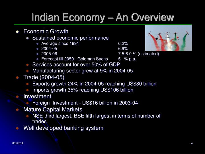 Indian Economy – An Overview