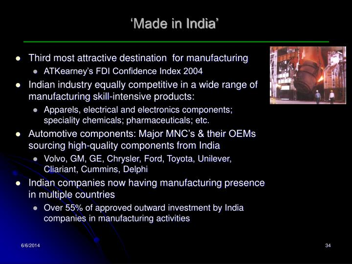'Made in India'