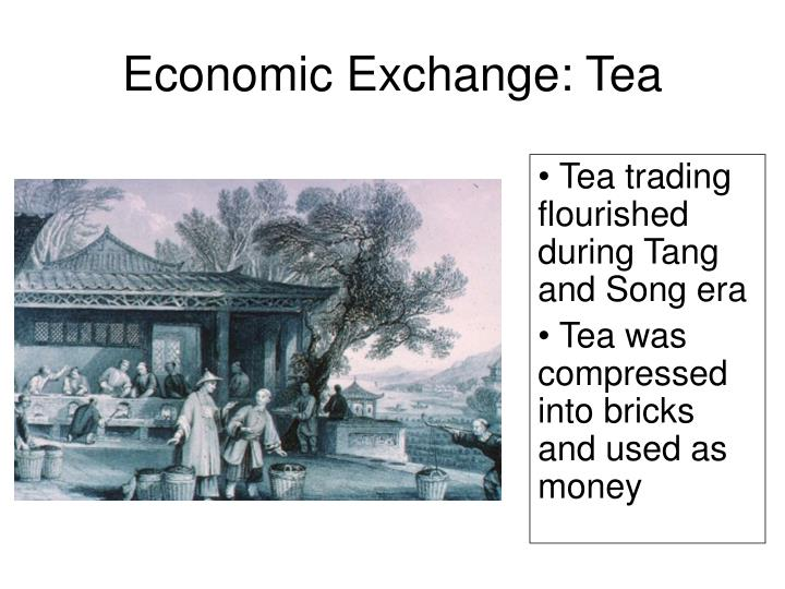 Economic Exchange: Tea
