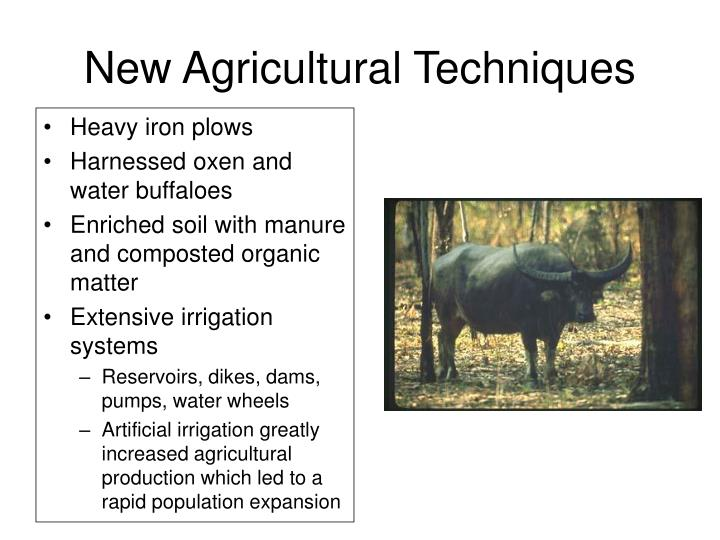 New Agricultural Techniques