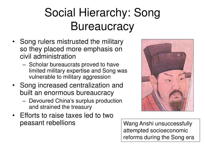 Social Hierarchy: Song Bureaucracy
