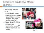social and traditional media outrage1