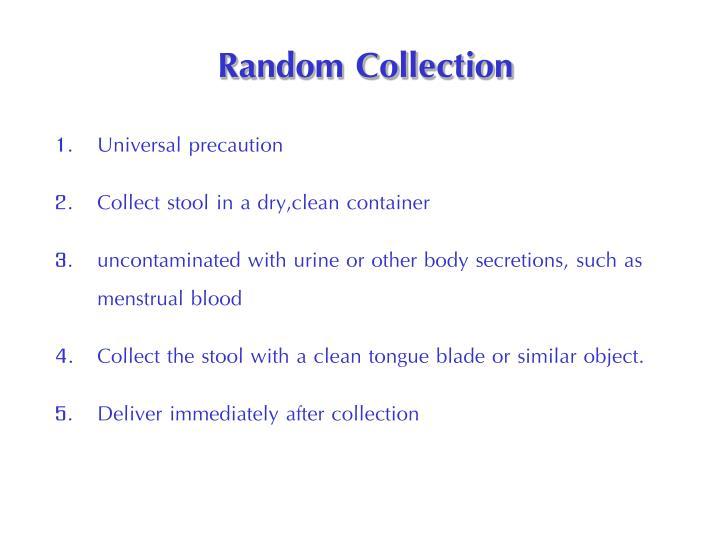 Random Collection