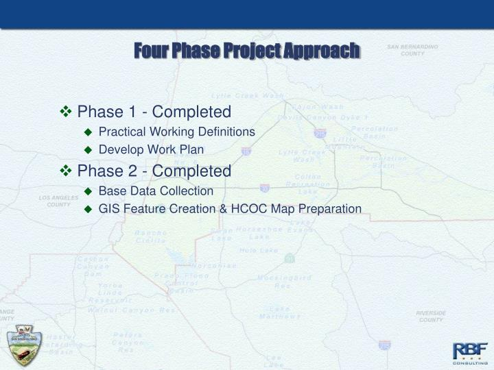 Four Phase Project Approach