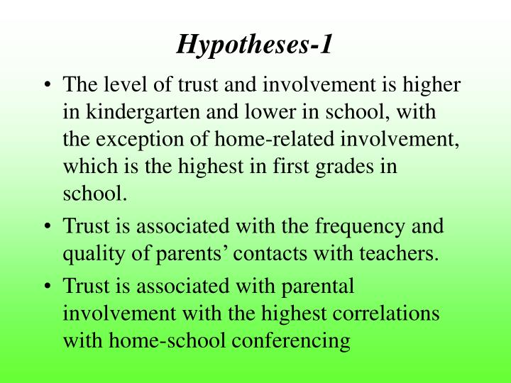 Hypotheses-1
