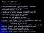 ii list of contributors1