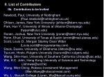 ii list of contributors7
