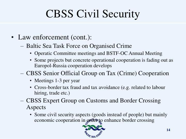 Law enforcement (cont.):