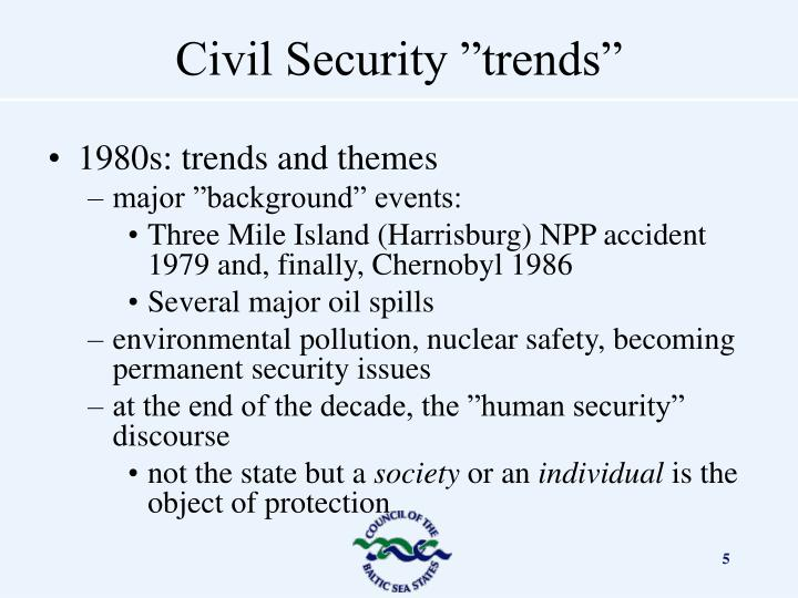 1980s: trends and themes