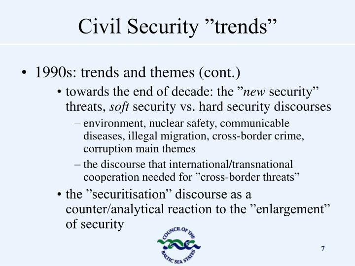 1990s: trends and themes (cont.)