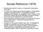 senate reference 1979
