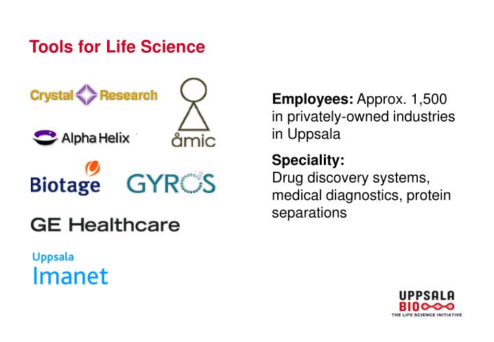 Tools for Life Science