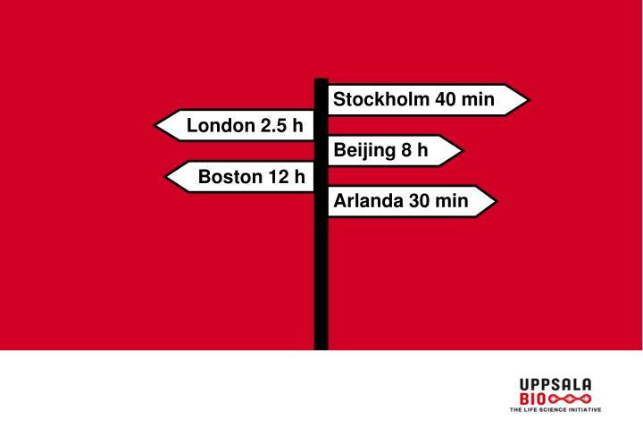 Stockholm 40 min