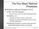 the four basic rational processes2