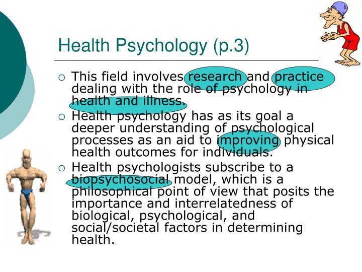 Health Psychology (p.3)