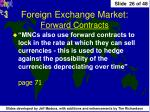 foreign exchange market forward contracts2