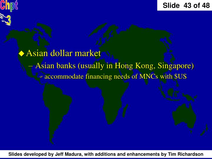 Asian dollar market