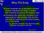 why fdi exits1