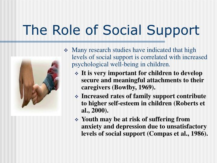 The Role of Social Support