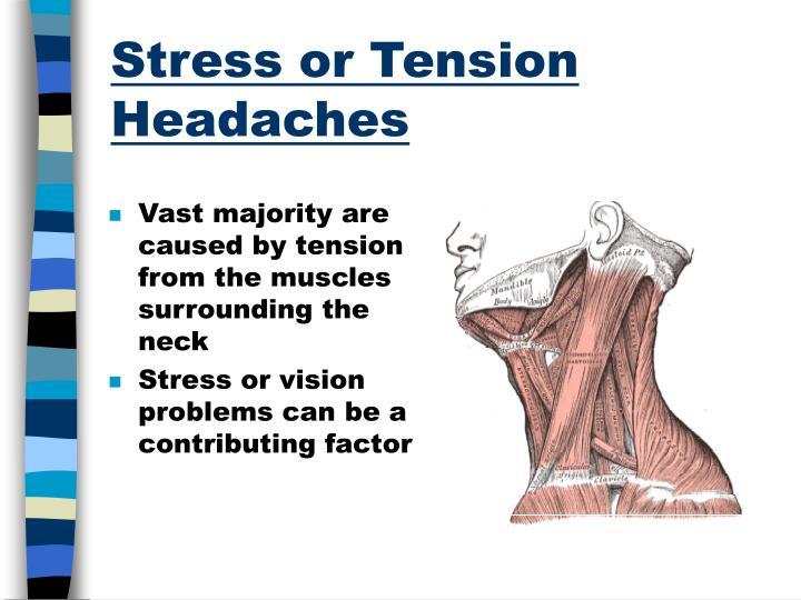 Stress or Tension Headaches