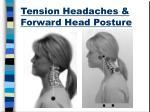 tension headaches forward head posture1