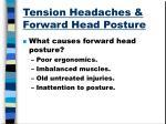 tension headaches forward head posture2