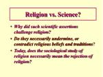 religion vs science1