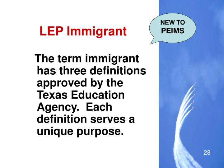 LEP Immigrant