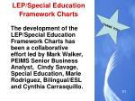 lep special education framework charts4