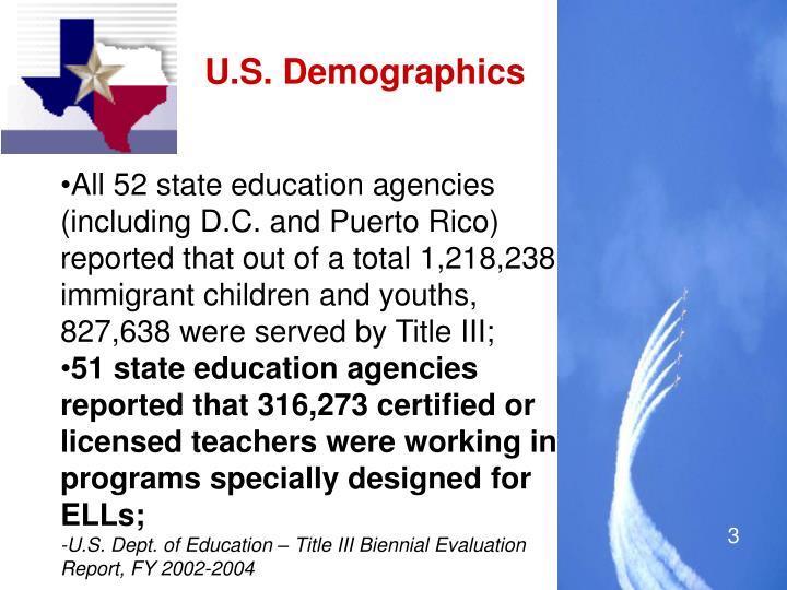 U.S. Demographics