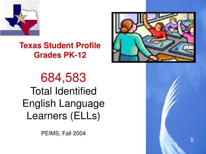 Texas Student Profile