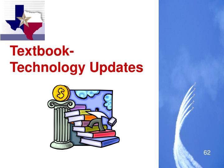Textbook-Technology Updates