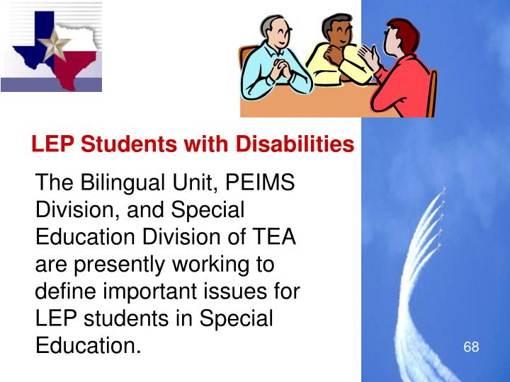 LEP Students with Disabilities