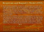 bergstrom and bagnoli s model 1993